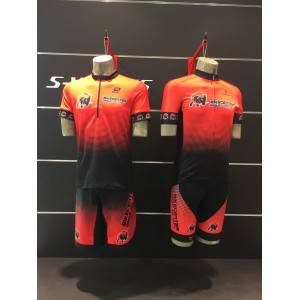 Cuore Bronze Men Cycling S/Sleeve Sport Jersey